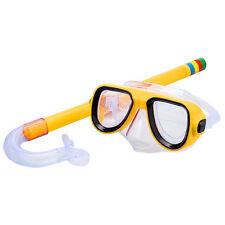 Profesional Niños Natación Bajo Agua GAFAS BUCEO Juego de snorkel