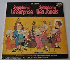 SYMPHONIE: La Surprise des Jouets DISNEY LP Record Disneyland