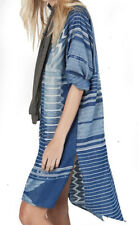 NEW ONE TEASPOON  DRESS XS 2 6  $250 WOMEN DENIM PATTERN ASYMMETRIC