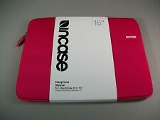 "Incase Notebook / Laptop / Chromebook / Mac 15"" Neoprene Sleeve Raspberry"