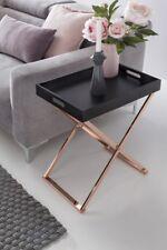 Table d'appoint Table d'appoint Mules 48x34 cm courbé THONET noir/cuivre