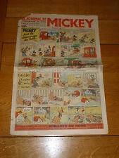 LE JOURNAL DE MICKEY French Comic - No 259 - Date 10/10/1939 French Paper Comic