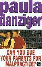 Book, Can You Sue Your Parents For Malpractice, SIGNED