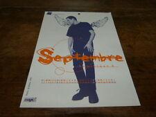 DOMINIQUE A - Mini poster couleurs 1 !!!