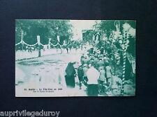 CPA NANTES, La Fête-Dieu en 1925, sur le Cours St André.