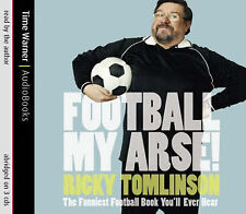 Football My Arse by Ricky Tomlinson CD Audio NEW & SEALED