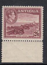 Antigua 1938 KGVI 2s 6d Brown-Purple ,. SG 106  , Sc 92 , Unmounted mint