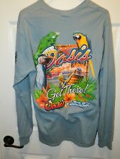 """""""Oasis of St Augustine"""" Gorgeous GRAPHIC Tee in Excellent Con Sz M"""