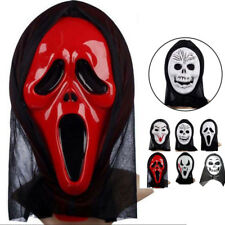 KD_ Full Face Mask Scary Grimace Halloween Costume Evil Creepy Party Horror Na