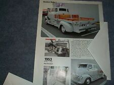 1953 GMC COE Custom Crew Cab Flat Bed Article