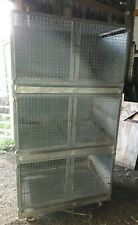 Heavy duty Metal Breeding / Display Cages poultry parrot aviary budgie tower