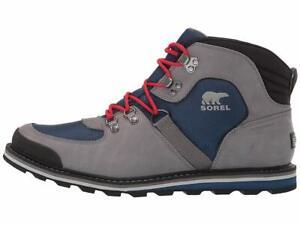 Sorel Madson Sport Hiker Waterproof Men Hiking Combat Boots Leather