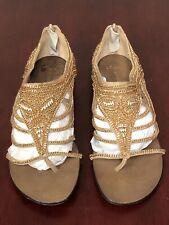 Jean Michel Cazabat Women's Tandie Chain Flat Sandals US 9 $385