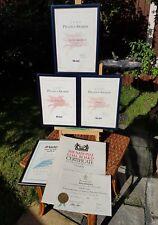 MOBIL, AIRUK, DALE CARNAGIE, THE NATIONAL COAL BOARD AWARDS & CERTIFICATES
