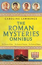 The Roman Mysteries Omnibus by Lawrence, Caroline Hardback Book The Cheap Fast
