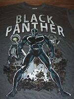 VINTAGE STYLE THE BLACK PANTHER Marvel Comics T-Shirt XL NEW