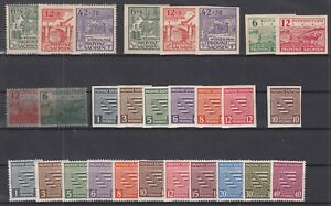 DC7944/ GERMANY SOVIET ZONE – SACHSEN – 1945 / 1946 MINT MNH COLLECTION