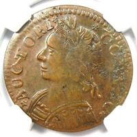 1787 Connecticut Mailed Bust Left Coin - NGC MS61 (BU UNC) - Very Rare Grade!