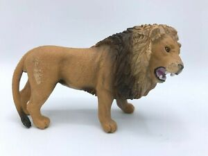Schleich Male Lion Animal Figure Toy Collectible Mammal 2014 Big Cat Predator