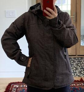 Burton Women's Dryride Hooded Snowboard Ski Jacket Size L Large