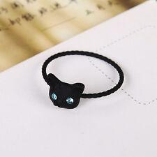 Cute Cat Kitty Ring for Women Handmade Jewelry Design Finger Rings for Women