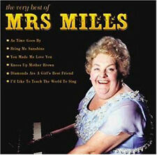 Mrs Mills The Very Best of Mrs Mills Piano Sing-Along Music CD New