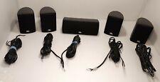 JBL Surround Sound Audio Home Theatre 135SISAT Speakers & 1 135SICEN Center Wire