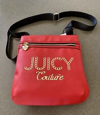 Juicy Couture Lime Light Large Crossbody Red Bright