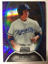 Wil Myers RC #/10 2011 Bowman Strerling Purple Refractor #5 Padres RARE!!