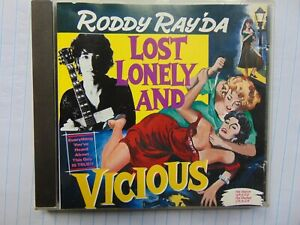 Roddy Ray'da - Lost Lonely And Vicious - Rare Australian Rock - CD - FREE POST