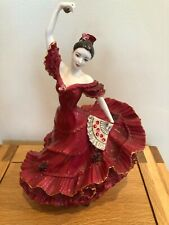 Coalport Flamenco. Passion For Dance.  Limited edition.