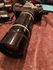 Cannon AE-1 W/ FL 200 mm Lens