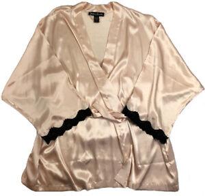 Susan Lucci 3 Piece Lingerie Set Lounging Pajamas Set Pink Black Women's 3XL