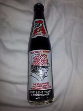 Alabama Crimson Tide Paul Bear Bryant Coca Cola Coke Glass Bottle Tribute NEW