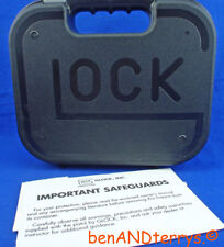 Glock 27 Factory Plastic Pistol Case Box with Manual