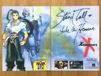 Xenogears PS1 Playstation 1 1998 Vintage Print Ad/Poster Art Official RPG Promo