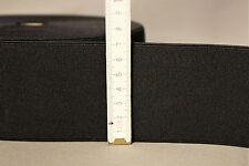 (1,55€ Lm) 1m Gummiband 70mm breite sehr starke Zugkraft! Farbe: schwarz