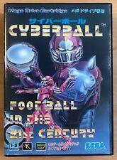 MEGADRIVE GENESIS -- Cyberball -- JP JAPAN - Vgood