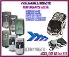 Ferport Tac2K, Tac4K, Tac2Kr, Tac4Kr Compatible remote control / clone 433,92Mhz