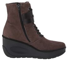 Fly London Women's Jabi070fly Ankle Boots Brown Ground Black Size UK 4