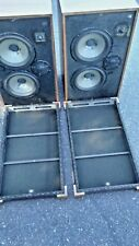 Sony SS-5400 Speaker System 8 Ohm 100W Peak Brown Rare Japan Vintage Speakers