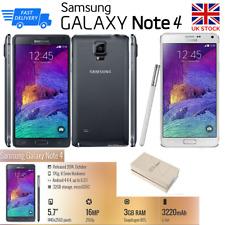 NEW Unlocked SAMSUNG Galaxy Note4 N910F Memory 32GB 16MP Cam RAM 3GB Warranty