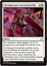 MTG Magic HOU - (x4) Unconventional Tactics/Tactiques peu convent..., French/VF