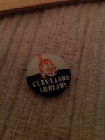 Vintage Baseball Cleveland Indians Pin Back Pinback