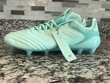 Mens Sz 8.5 adidas Copa 18.1 FG Clear Mint/Gold Metallic Spectral Mode DB2167