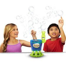 Automatic Bubble Blower Machine Toy Maker Blowing Soap Solution Bubbles Party Ki