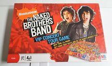 Nickelodeon - The Naked Brothers Band VIP Concert Tour Board Game (NEW SEALED)