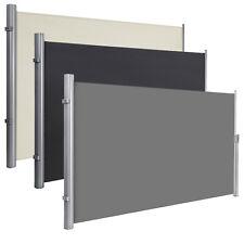Seitenmarkise Sichtschutz Sonnenschutz Seitenrollo 200 x 350 cm (HxL) für Balkon