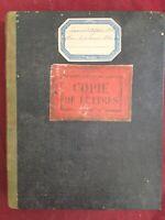 Famille Gaussem Viticulteur à Barsac en 1882 Rare Lettres Commerciales Vignoble