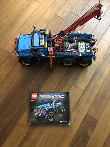 LEGO Technic Allrad-Abschleppwagen (42070) Gebraucht, Für Bastler